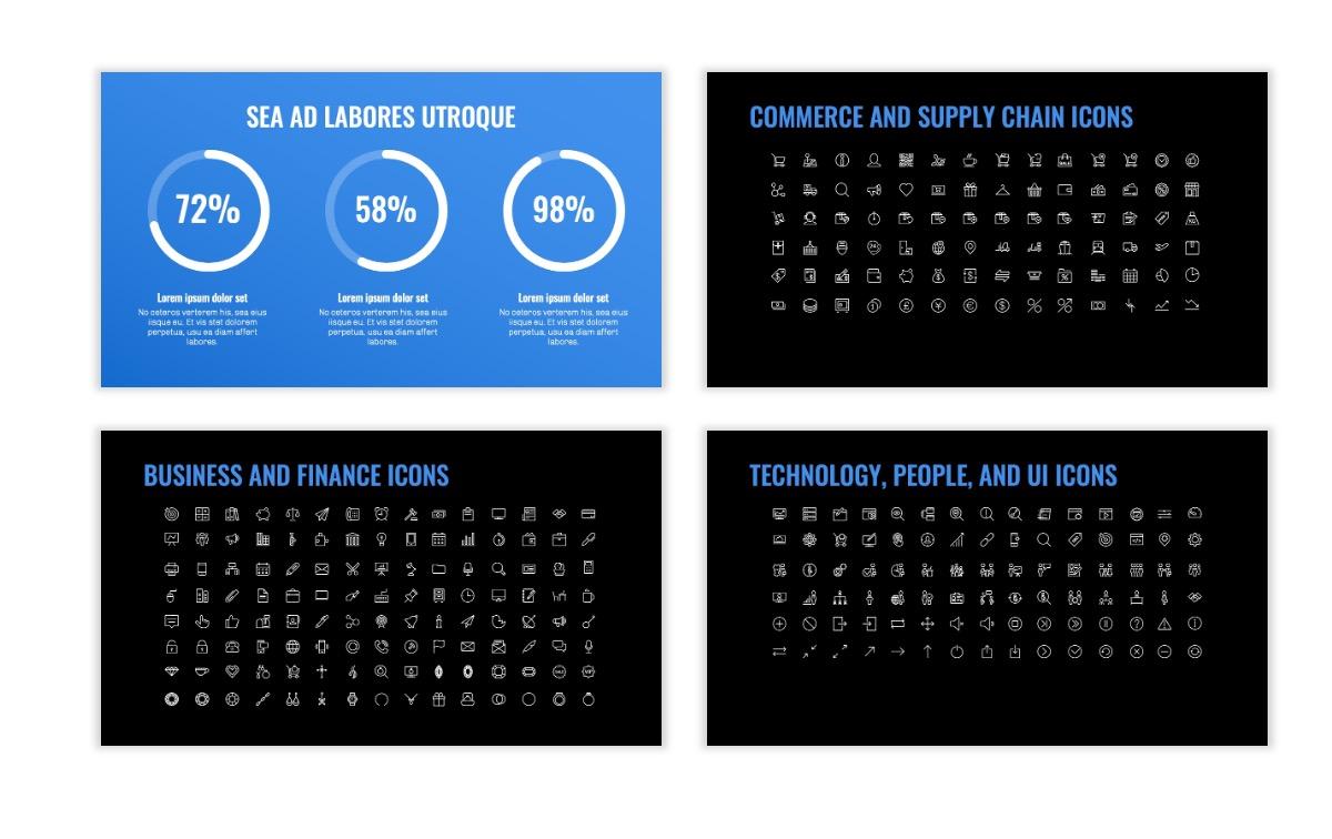 OSLO - Minimal - Dark Blue - Business - Professional - Aesthetic - Clean - Minimal Slide26
