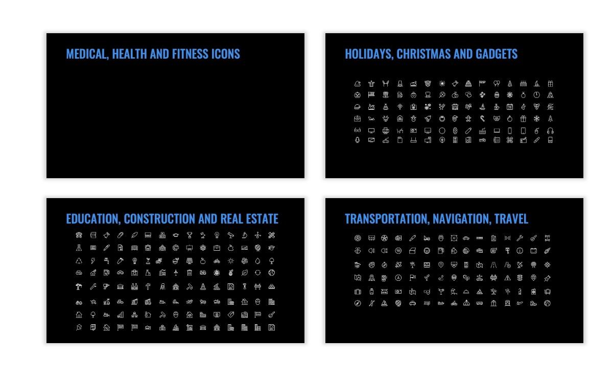 OSLO - Minimal - Dark Blue - Business - Professional - Aesthetic - Clean - Minimal Slide27