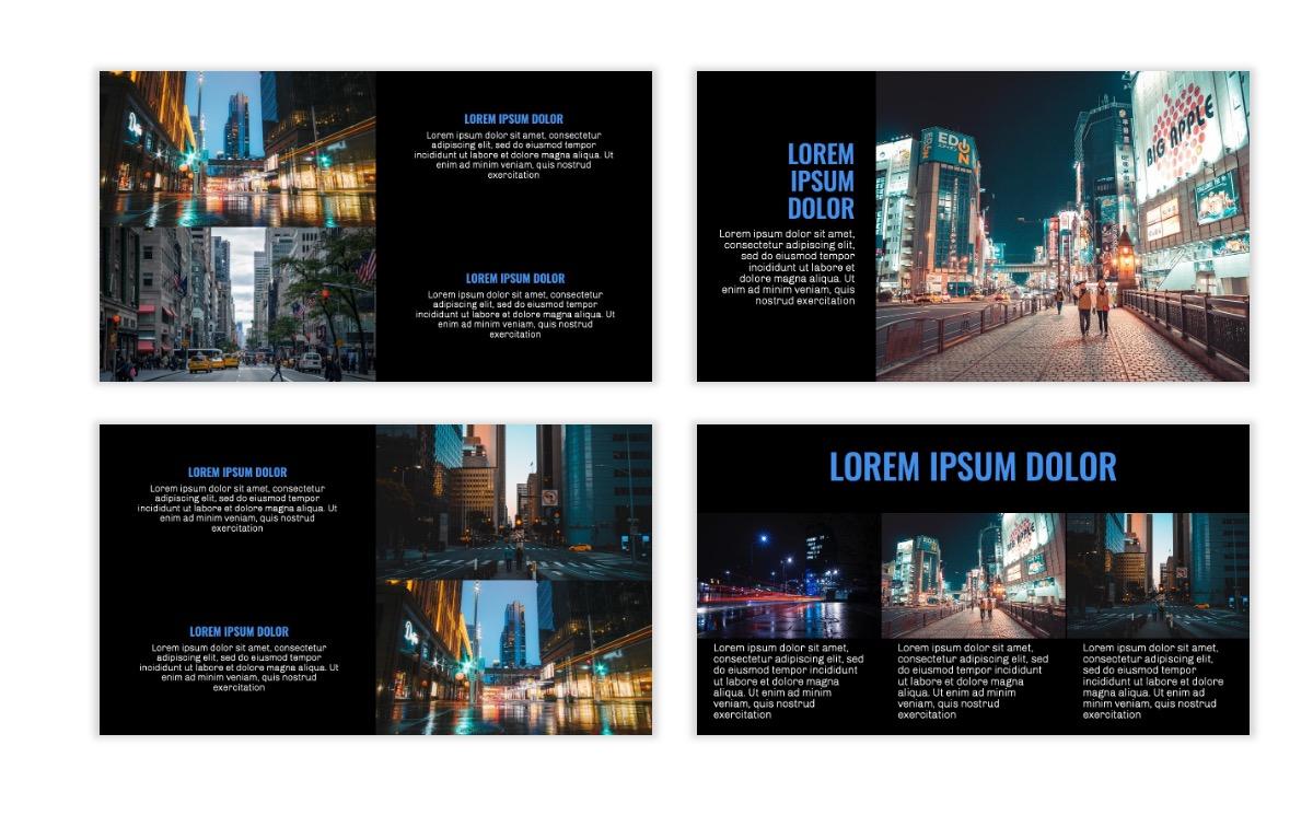 OSLO - Minimal - Dark Blue - Business - Professional - Aesthetic - Clean - Minimal Slide7