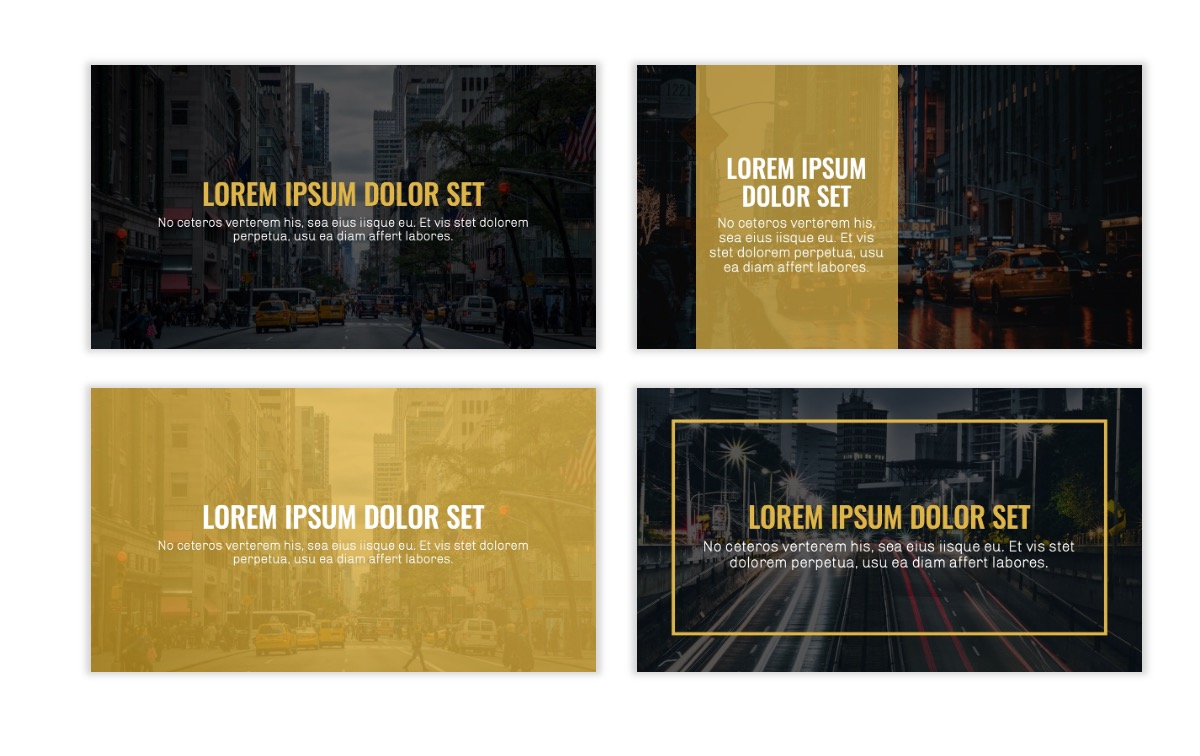 OSLO - Minimal - Dark Gold - Business - Professional - Aesthetic - Clean - Minimal Slide2