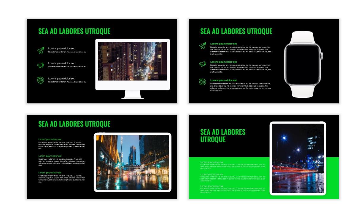 OSLO - Minimal - Dark Green - Business - Professional - Aesthetic - Clean - Minimal Slide10