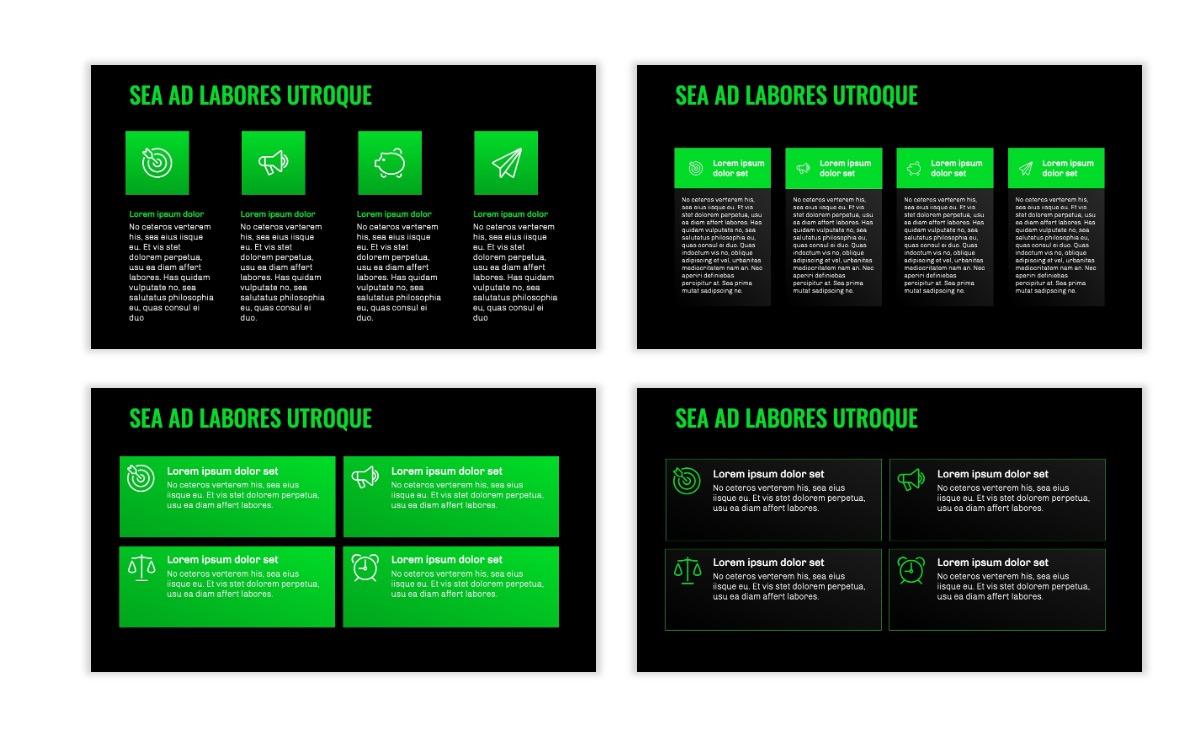 OSLO - Minimal - Dark Green - Business - Professional - Aesthetic - Clean - Minimal Slide12