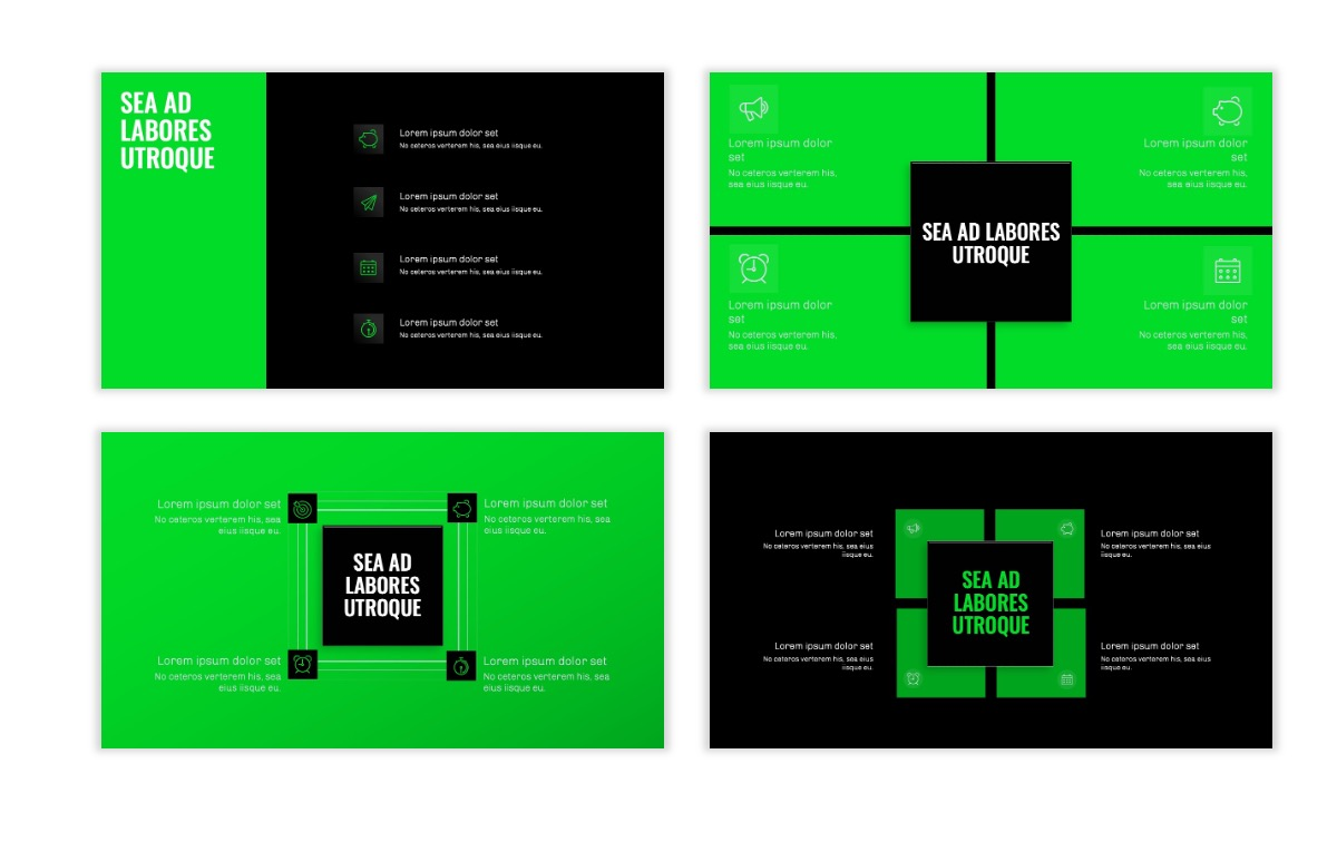 OSLO - Minimal - Dark Green - Business - Professional - Aesthetic - Clean - Minimal Slide16