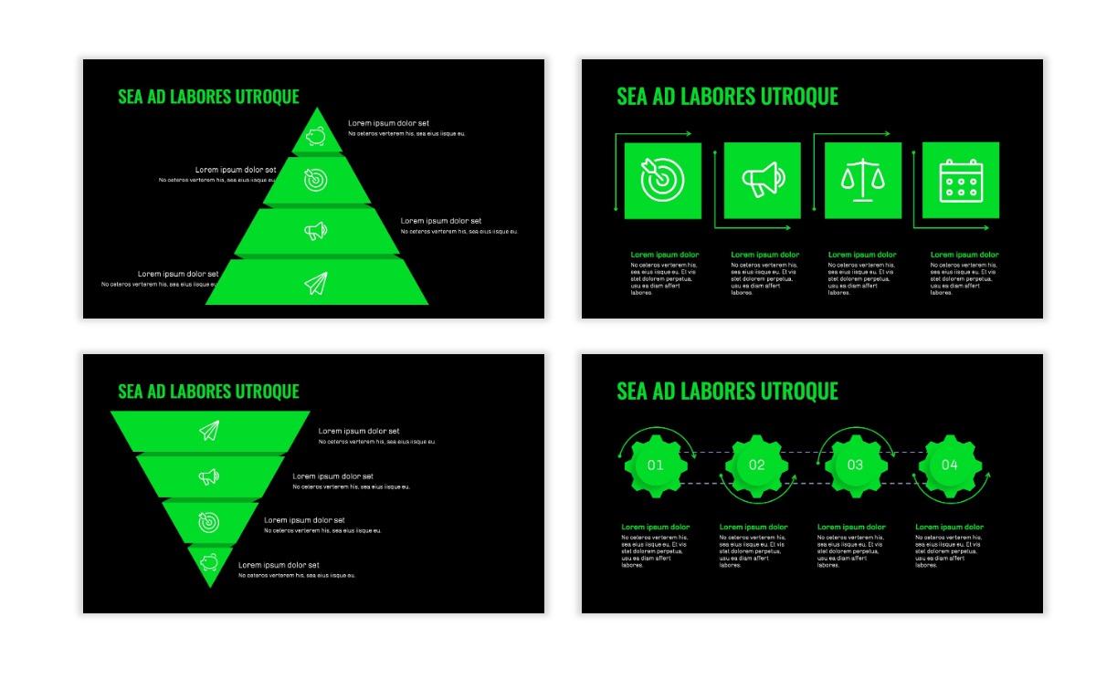 OSLO - Minimal - Dark Green - Business - Professional - Aesthetic - Clean - Minimal Slide17