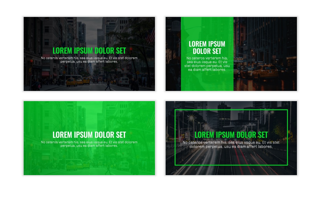 OSLO - Minimal - Dark Green - Business - Professional - Aesthetic - Clean - Minimal Slide2