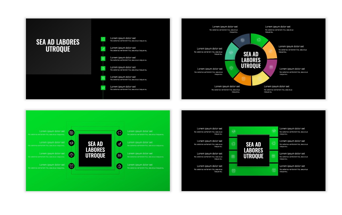OSLO - Minimal - Dark Green - Business - Professional - Aesthetic - Clean - Minimal Slide21