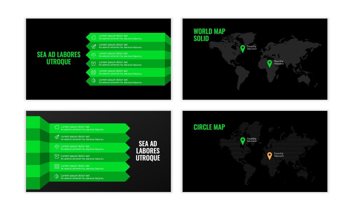 OSLO - Minimal - Dark Green - Business - Professional - Aesthetic - Clean - Minimal Slide23