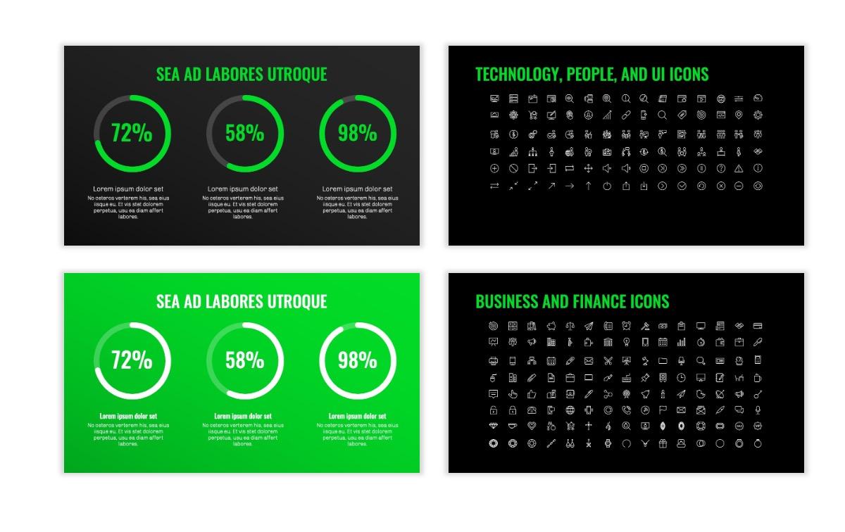 OSLO - Minimal - Dark Green - Business - Professional - Aesthetic - Clean - Minimal Slide26