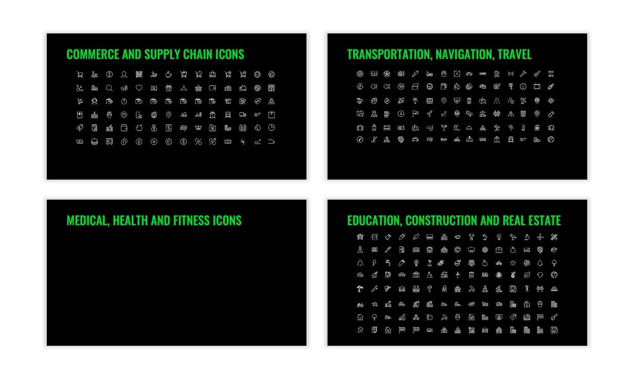 OSLO - Minimal - Dark Green - Business - Professional - Aesthetic - Clean - Minimal Slide27