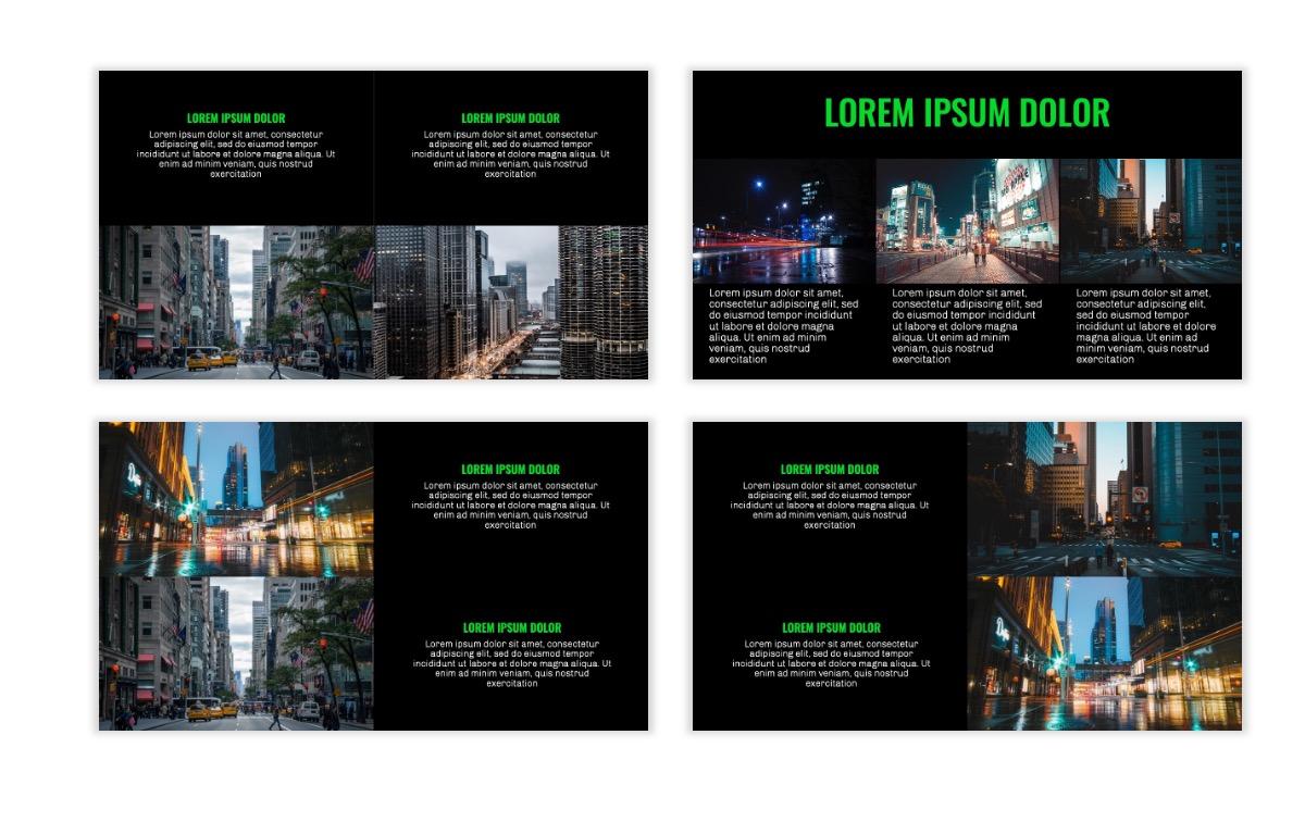 OSLO - Minimal - Dark Green - Business - Professional - Aesthetic - Clean - Minimal Slide7