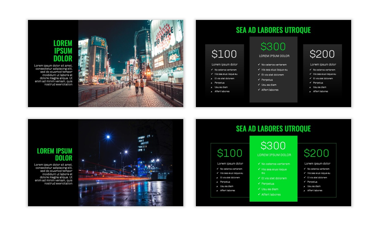 OSLO - Minimal - Dark Green - Business - Professional - Aesthetic - Clean - Minimal Slide8