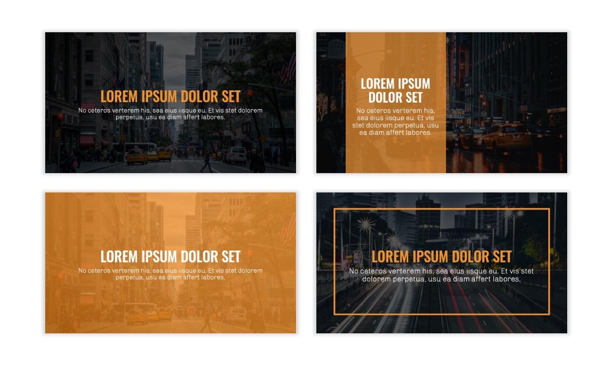 OSLO - Minimal - Dark Orange - Business - Professional - Aesthetic - Clean - Minimal Slide2