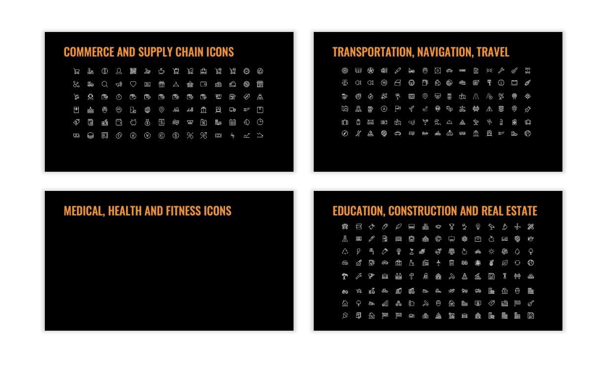 OSLO - Minimal - Dark Orange - Business - Professional - Aesthetic - Clean - Minimal Slide27
