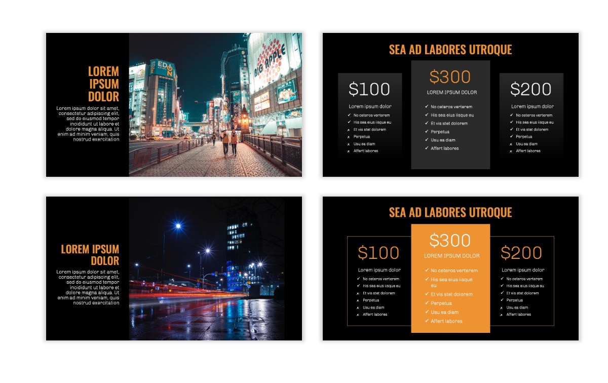 OSLO - Minimal - Dark Orange - Business - Professional - Aesthetic - Clean - Minimal Slide8