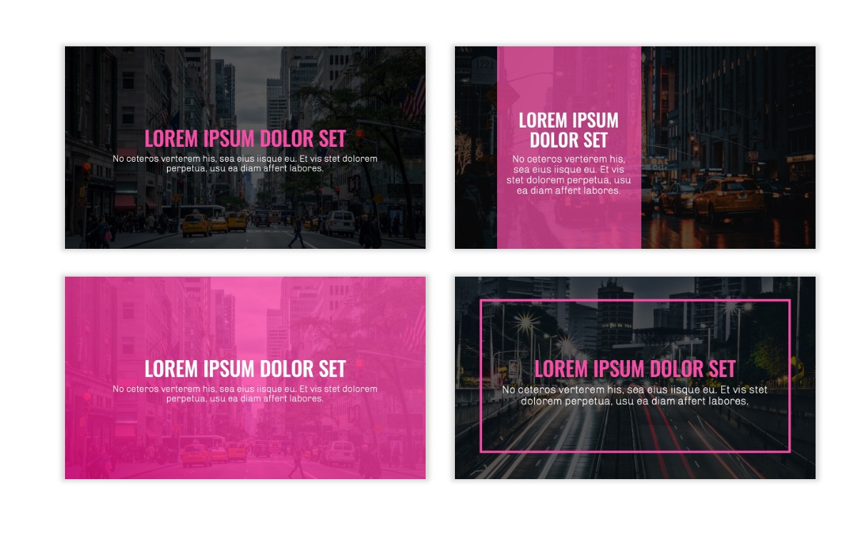 OSLO - Minimal - Dark Pink - Business - Professional - Aesthetic - Clean - Minimal Slide2