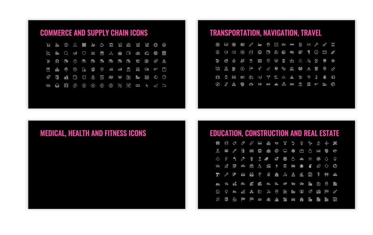 OSLO - Minimal - Dark Pink - Business - Professional - Aesthetic - Clean - Minimal Slide27