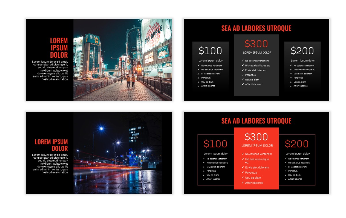 OSLO - Minimal - Dark Red - Business - Professional - Aesthetic - Clean - Minimal Slide8