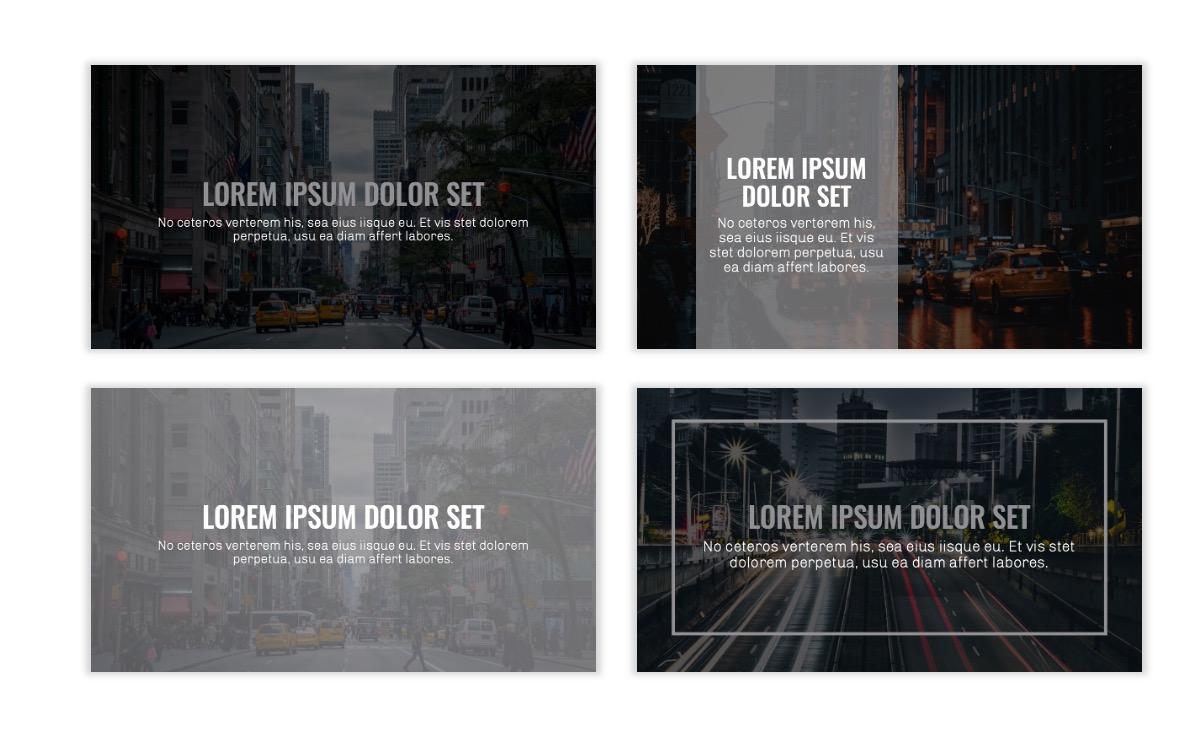 OSLO - Minimal - Dark Silver - Business - Professional - Aesthetic - Clean - Minimal Slide2