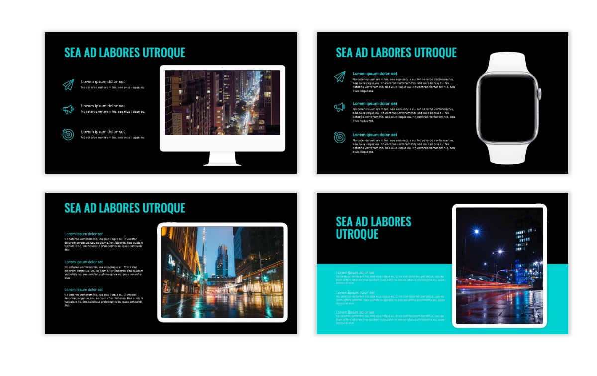 OSLO - Minimal - Dark Teal - Business - Professional - Aesthetic - Clean - Minimal Slide10