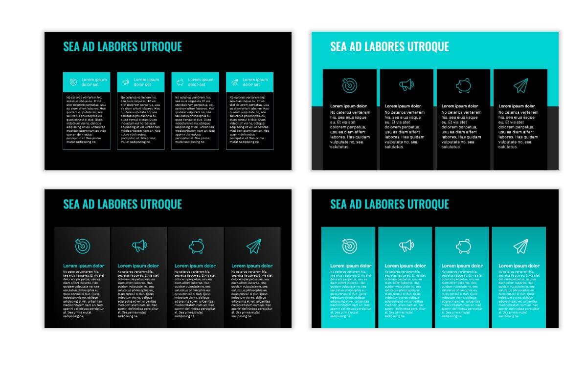OSLO - Minimal - Dark Teal - Business - Professional - Aesthetic - Clean - Minimal Slide13