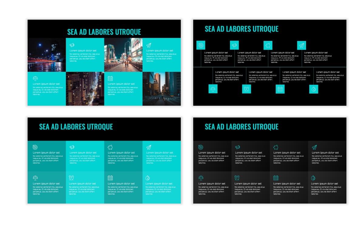 OSLO - Minimal - Dark Teal - Business - Professional - Aesthetic - Clean - Minimal Slide19