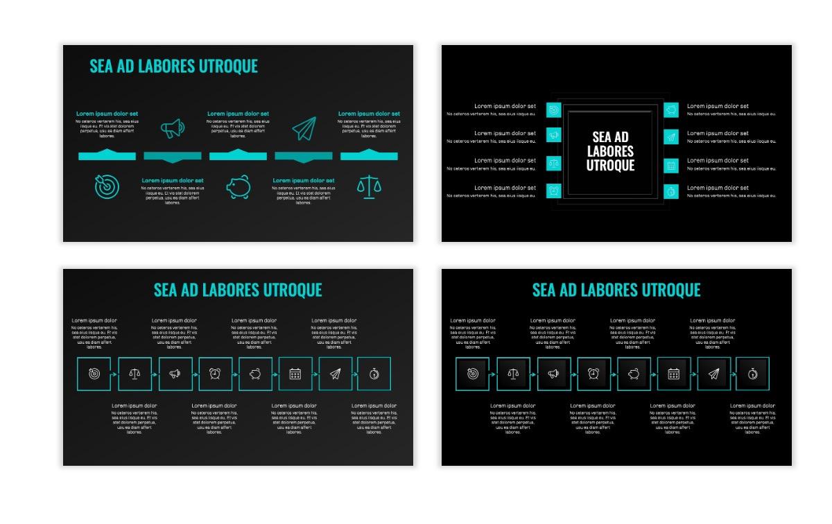OSLO - Minimal - Dark Teal - Business - Professional - Aesthetic - Clean - Minimal Slide20