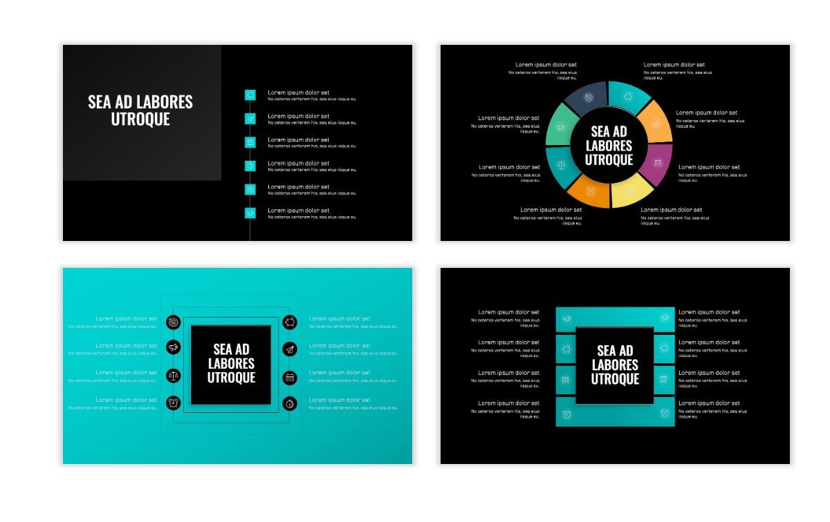 OSLO - Minimal - Dark Teal - Business - Professional - Aesthetic - Clean - Minimal Slide21