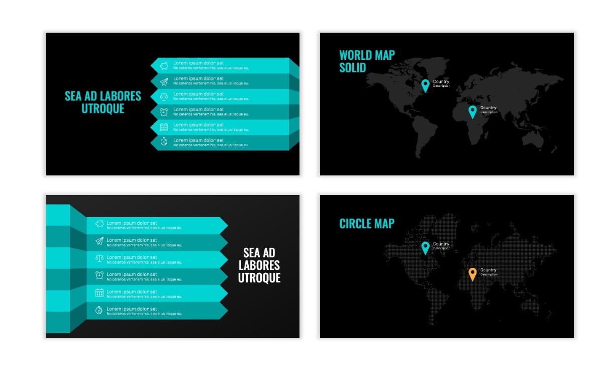 OSLO - Minimal - Dark Teal - Business - Professional - Aesthetic - Clean - Minimal Slide23