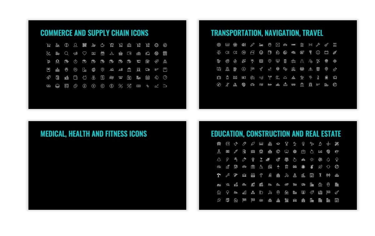 OSLO - Minimal - Dark Teal - Business - Professional - Aesthetic - Clean - Minimal Slide27