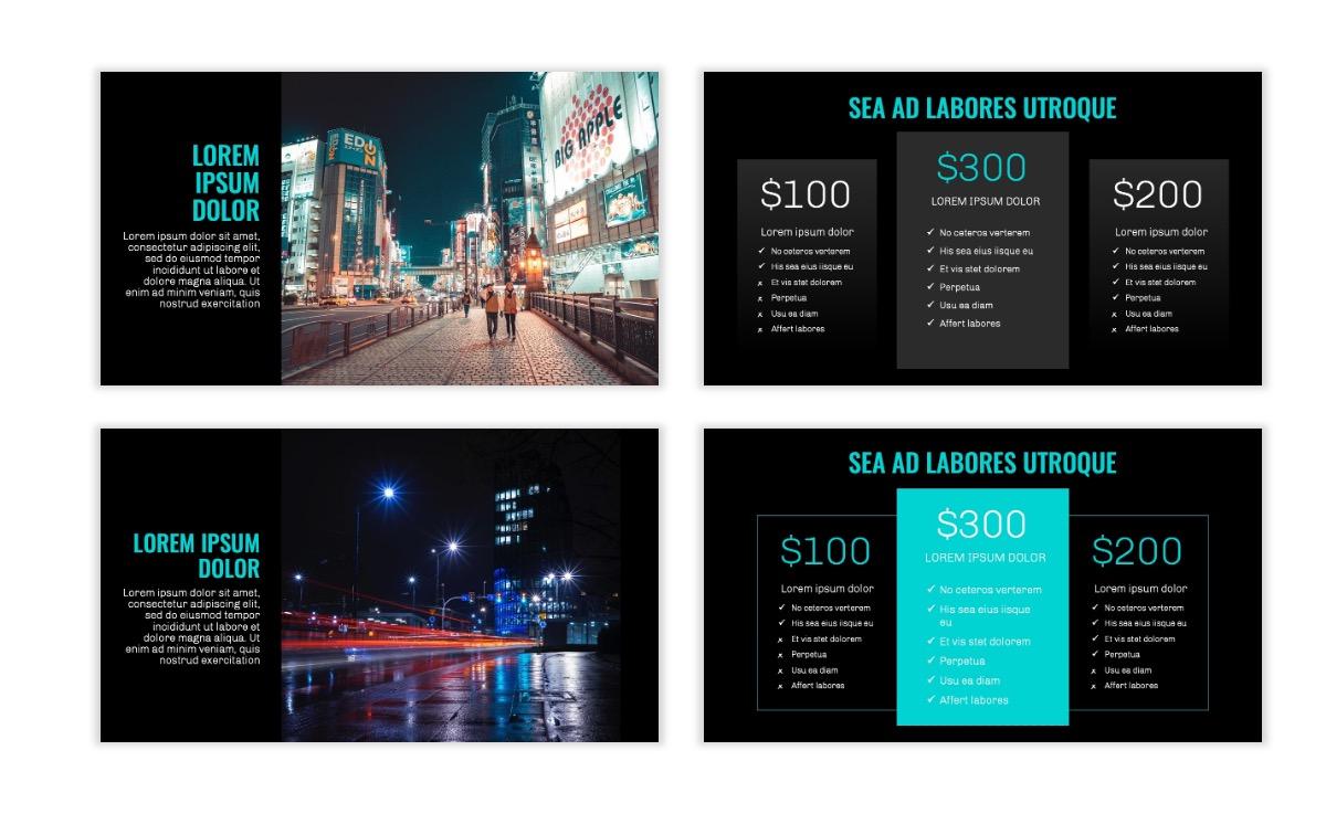 OSLO - Minimal - Dark Teal - Business - Professional - Aesthetic - Clean - Minimal Slide8