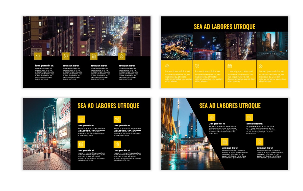 OSLO - Minimal - Dark Yellow - Business - Professional - Aesthetic - Clean - Minimal Slide14