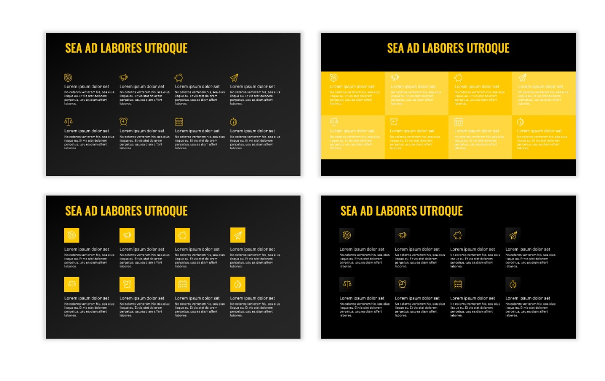 OSLO - Minimal - Dark Yellow - Business - Professional - Aesthetic - Clean - Minimal Slide18