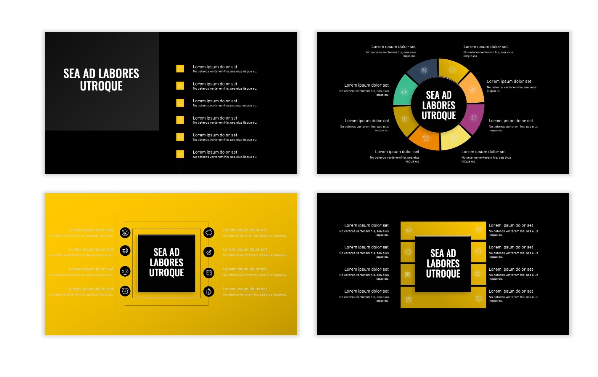 OSLO - Minimal - Dark Yellow - Business - Professional - Aesthetic - Clean - Minimal Slide21