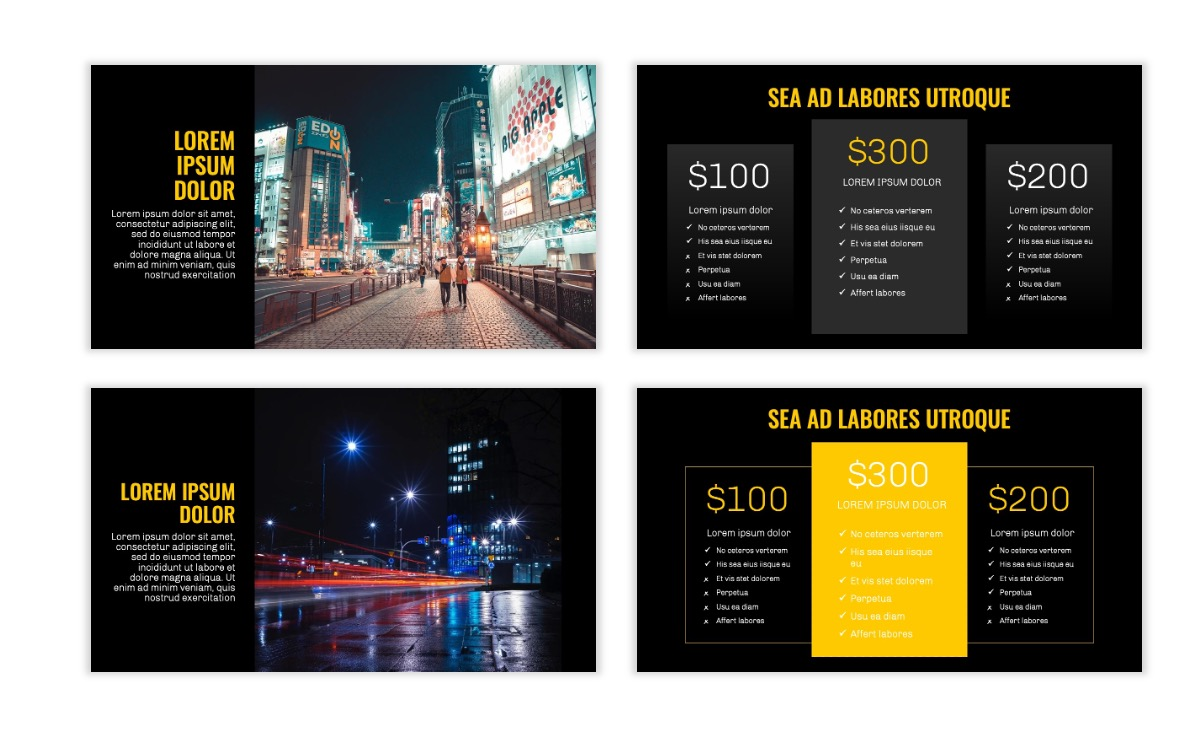 OSLO - Minimal - Dark Yellow - Business - Professional - Aesthetic - Clean - Minimal Slide8
