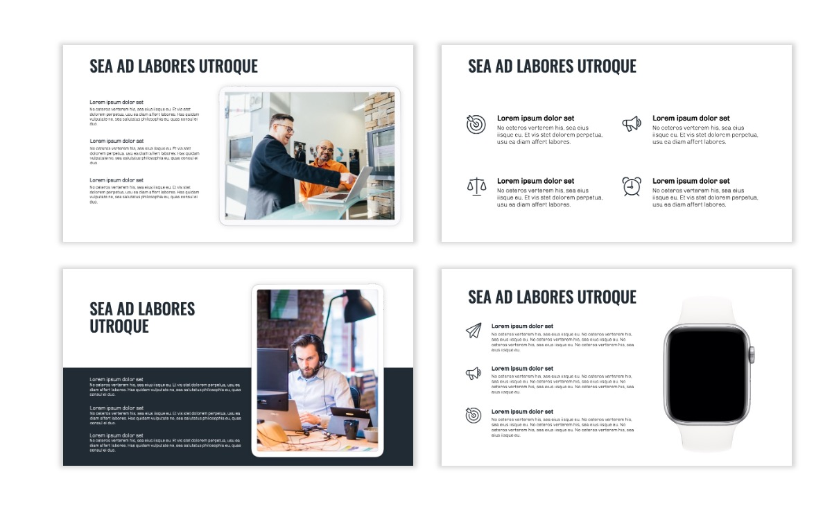 OSLO - Minimal - Gray - Business - Professional - Aesthetic - Clean - Minimal Slide10