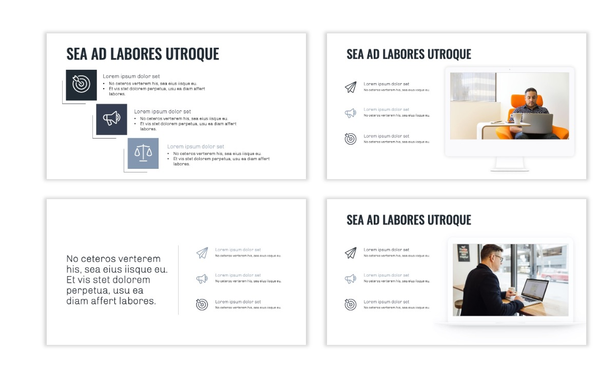 OSLO - Minimal - Gray - Business - Professional - Aesthetic - Clean - Minimal Slide9
