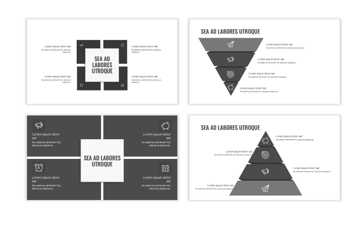 OSLO - Minimal - Gray Mono - Business - Professional - Aesthetic - Clean - Minimal Slide16