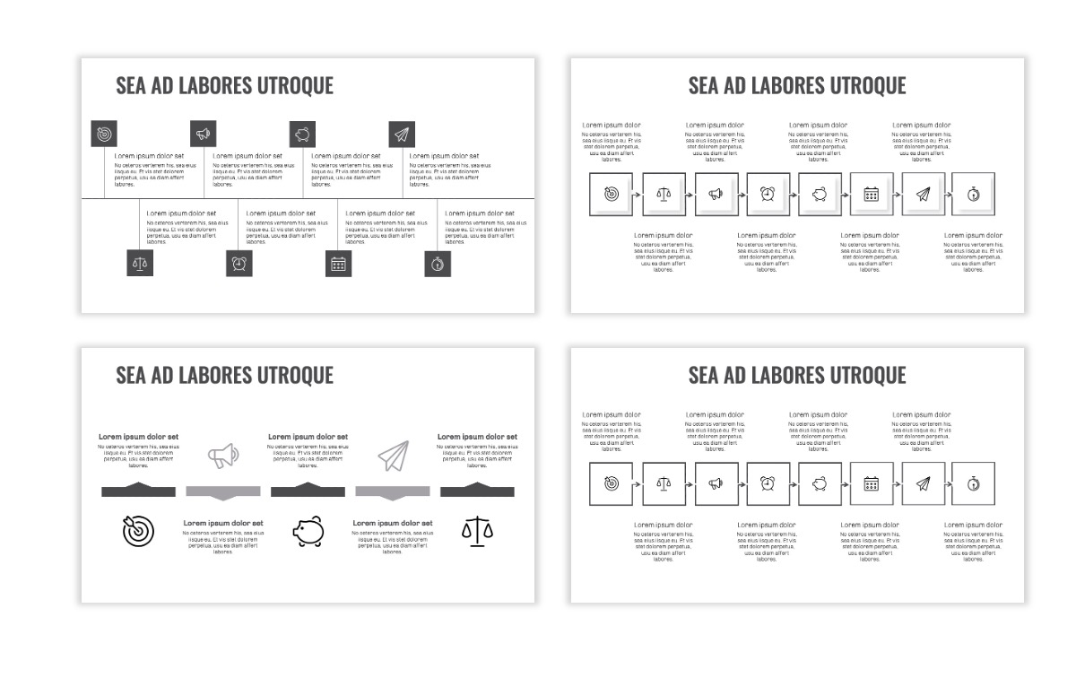 OSLO - Minimal - Gray Mono - Business - Professional - Aesthetic - Clean - Minimal Slide19