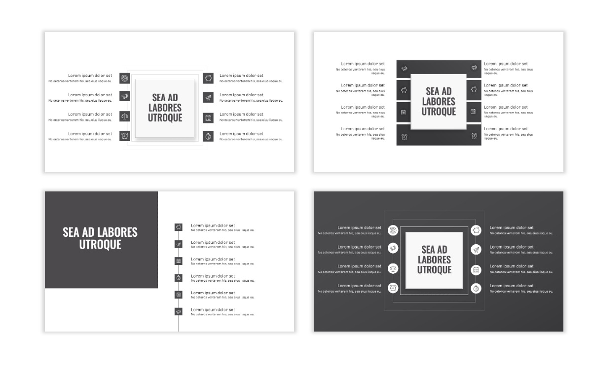 OSLO - Minimal - Gray Mono - Business - Professional - Aesthetic - Clean - Minimal Slide20
