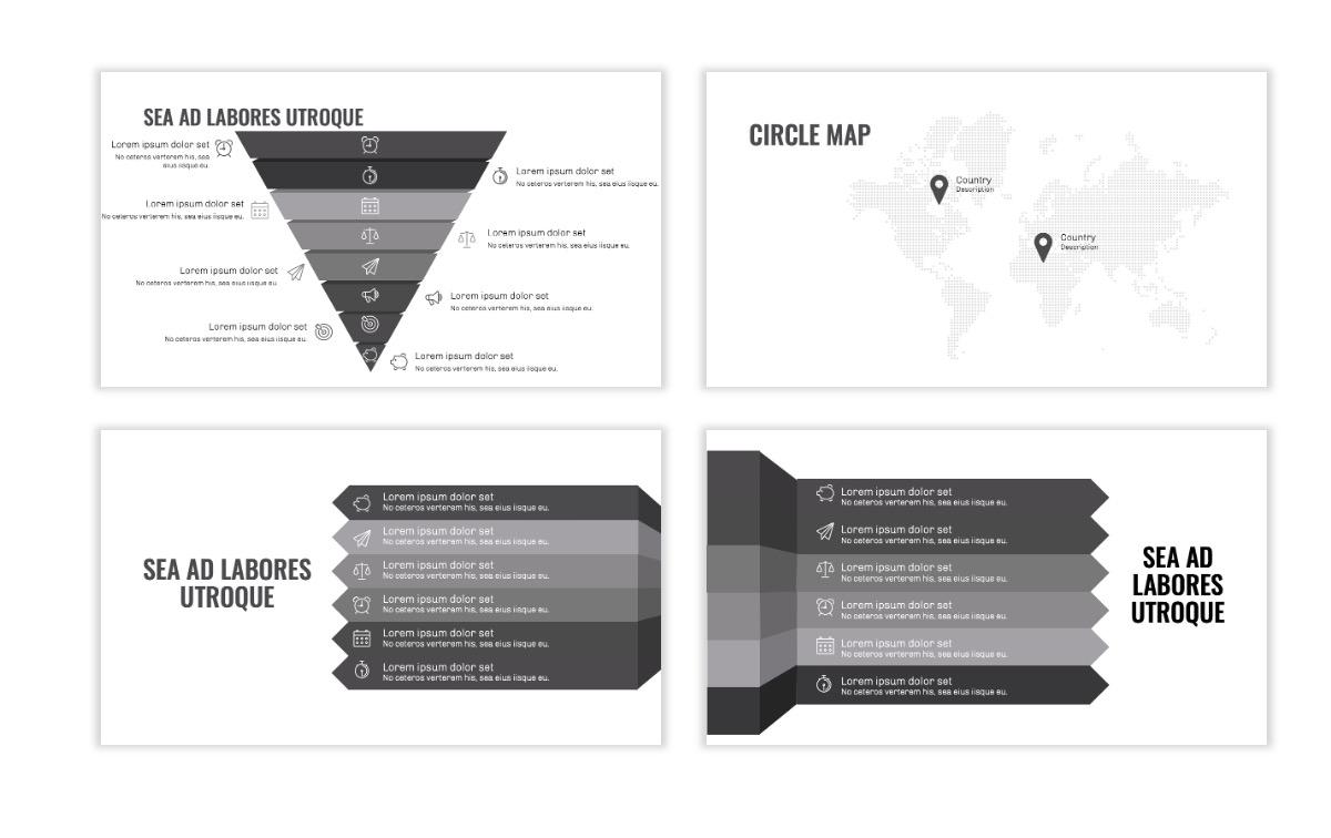 OSLO - Minimal - Gray Mono - Business - Professional - Aesthetic - Clean - Minimal Slide22