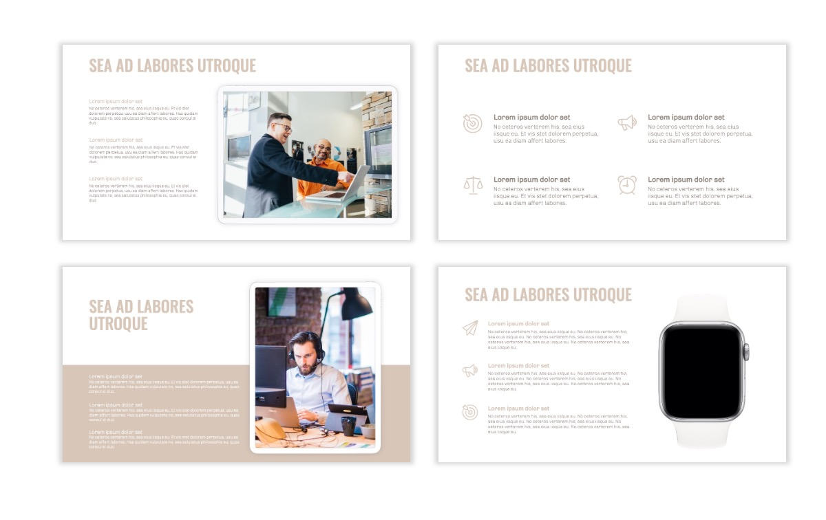 OSLO - Minimal - Neutral - Business - Professional - Aesthetic - Clean - Minimal Slide10