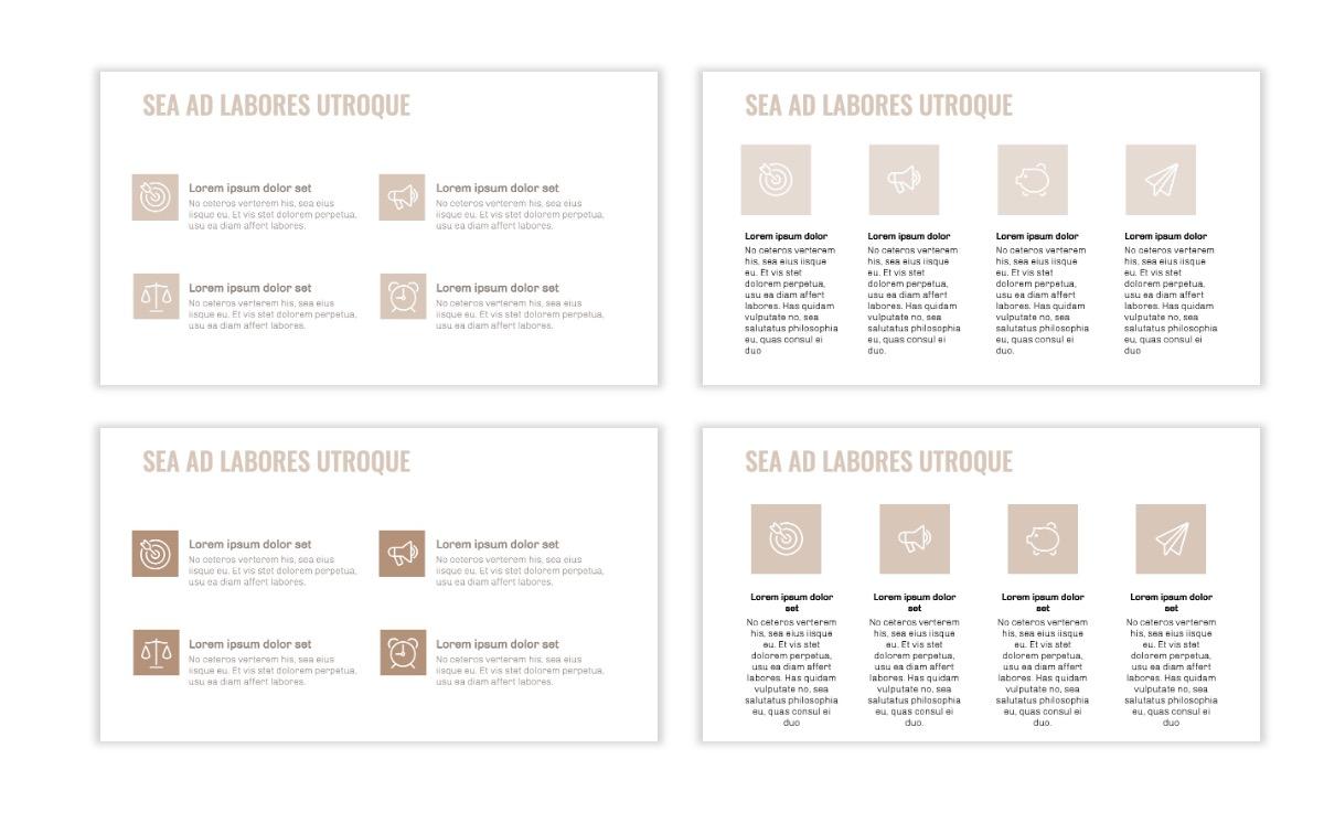 OSLO - Minimal - Neutral - Business - Professional - Aesthetic - Clean - Minimal Slide11