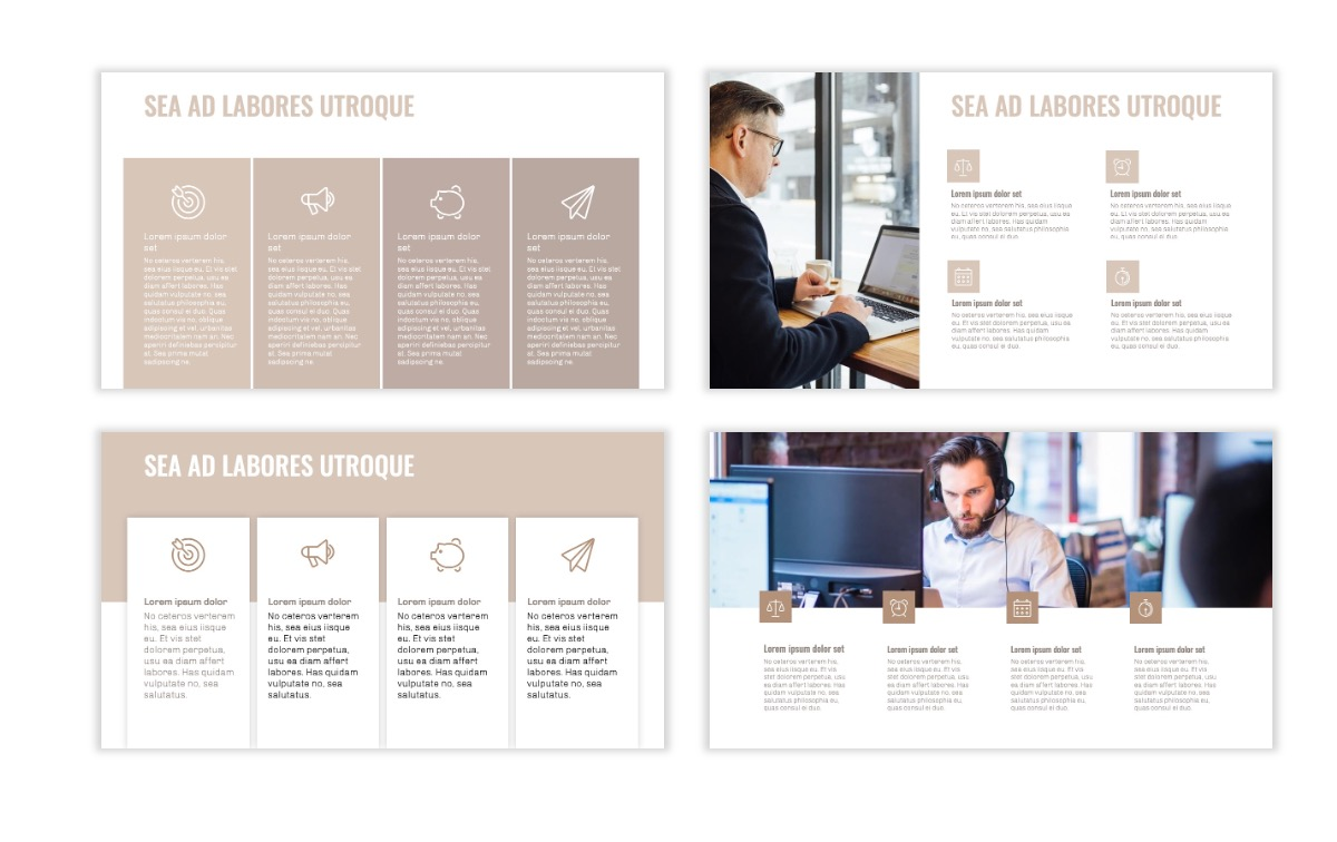 OSLO - Minimal - Neutral - Business - Professional - Aesthetic - Clean - Minimal Slide13