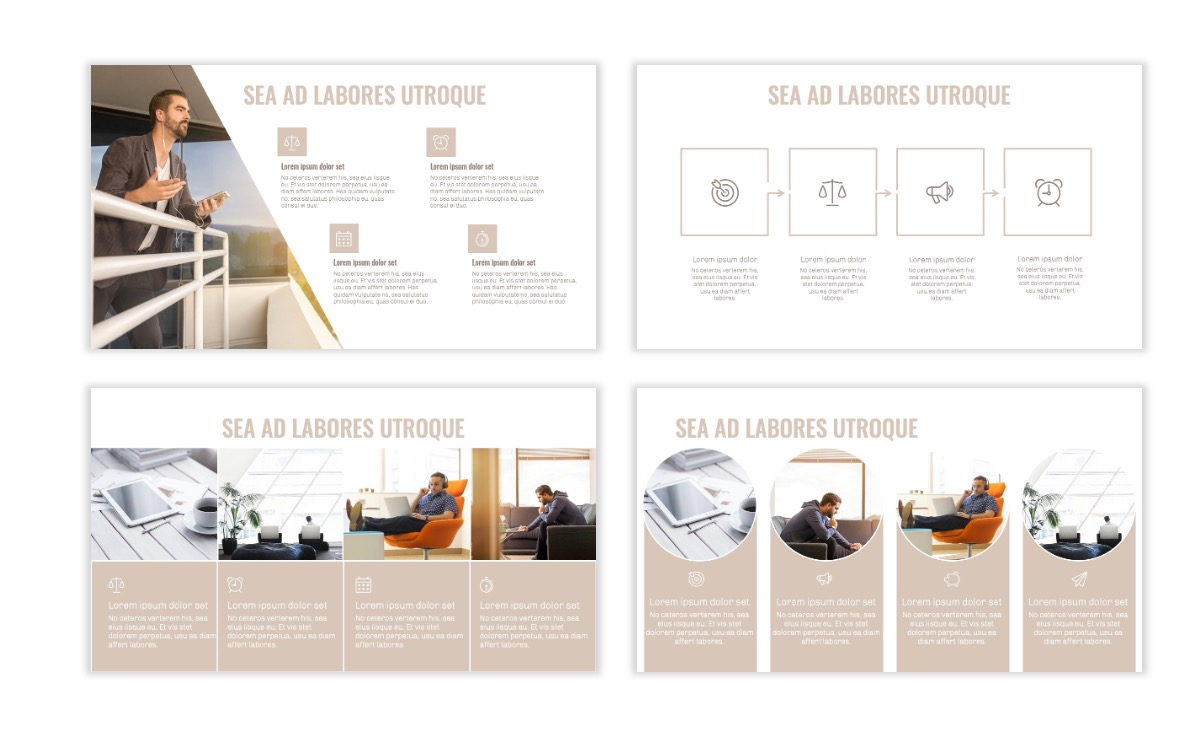 OSLO - Minimal - Neutral - Business - Professional - Aesthetic - Clean - Minimal Slide14