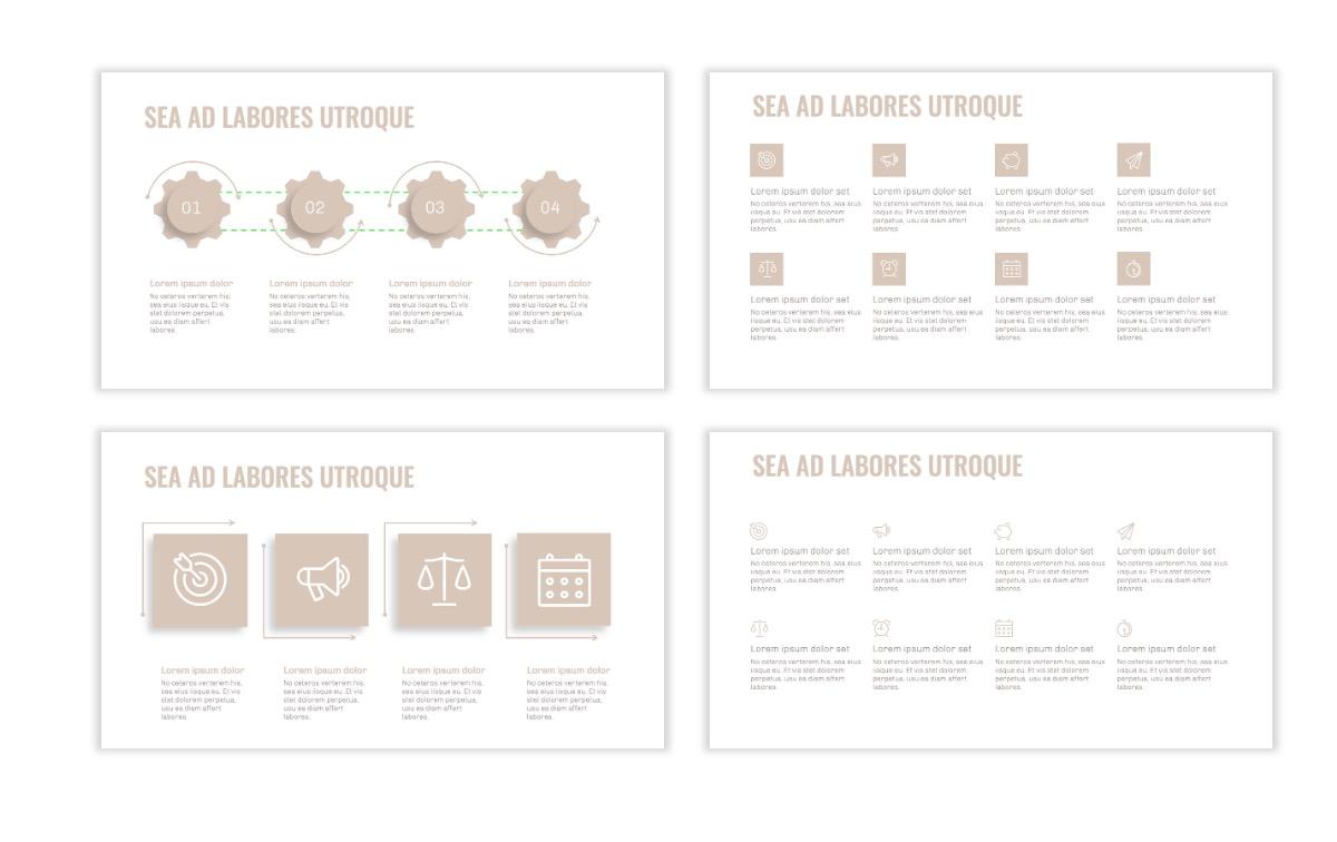 OSLO - Minimal - Neutral - Business - Professional - Aesthetic - Clean - Minimal Slide17