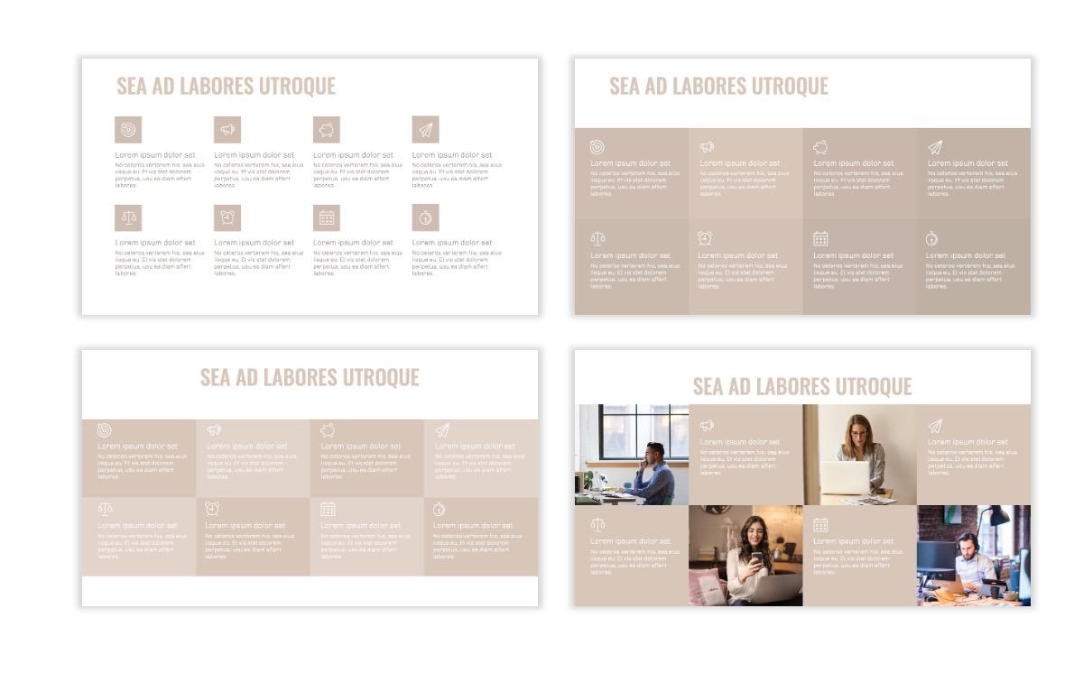 OSLO - Minimal - Neutral - Business - Professional - Aesthetic - Clean - Minimal Slide18