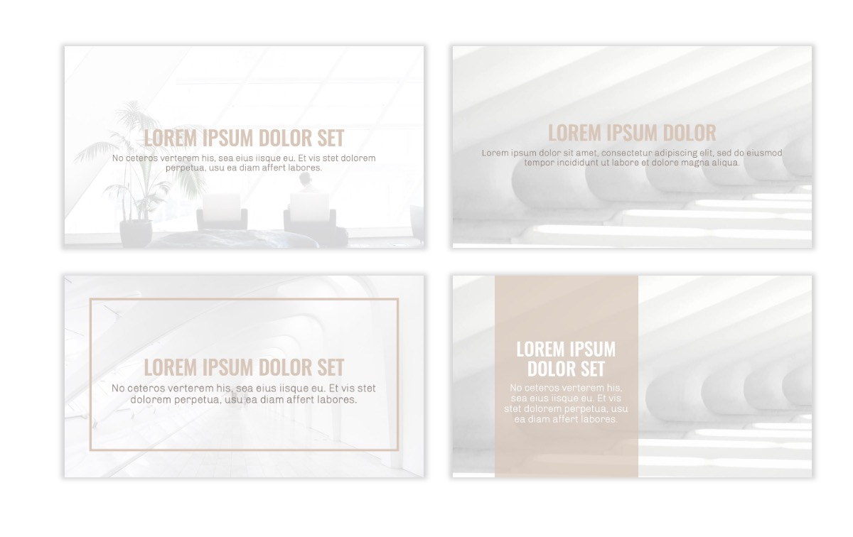 OSLO - Minimal - Neutral - Business - Professional - Aesthetic - Clean - Minimal Slide2