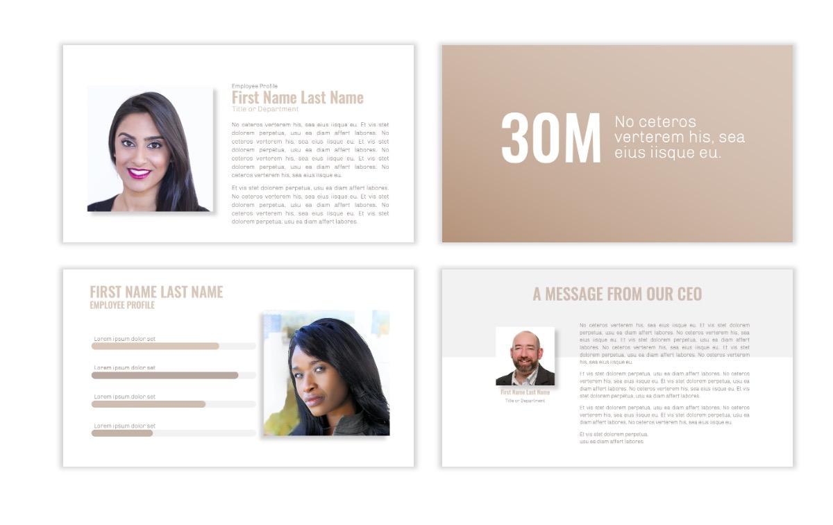 OSLO - Minimal - Neutral - Business - Professional - Aesthetic - Clean - Minimal Slide24