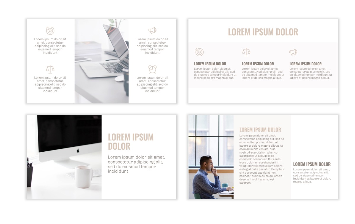 OSLO - Minimal - Neutral - Business - Professional - Aesthetic - Clean - Minimal Slide3
