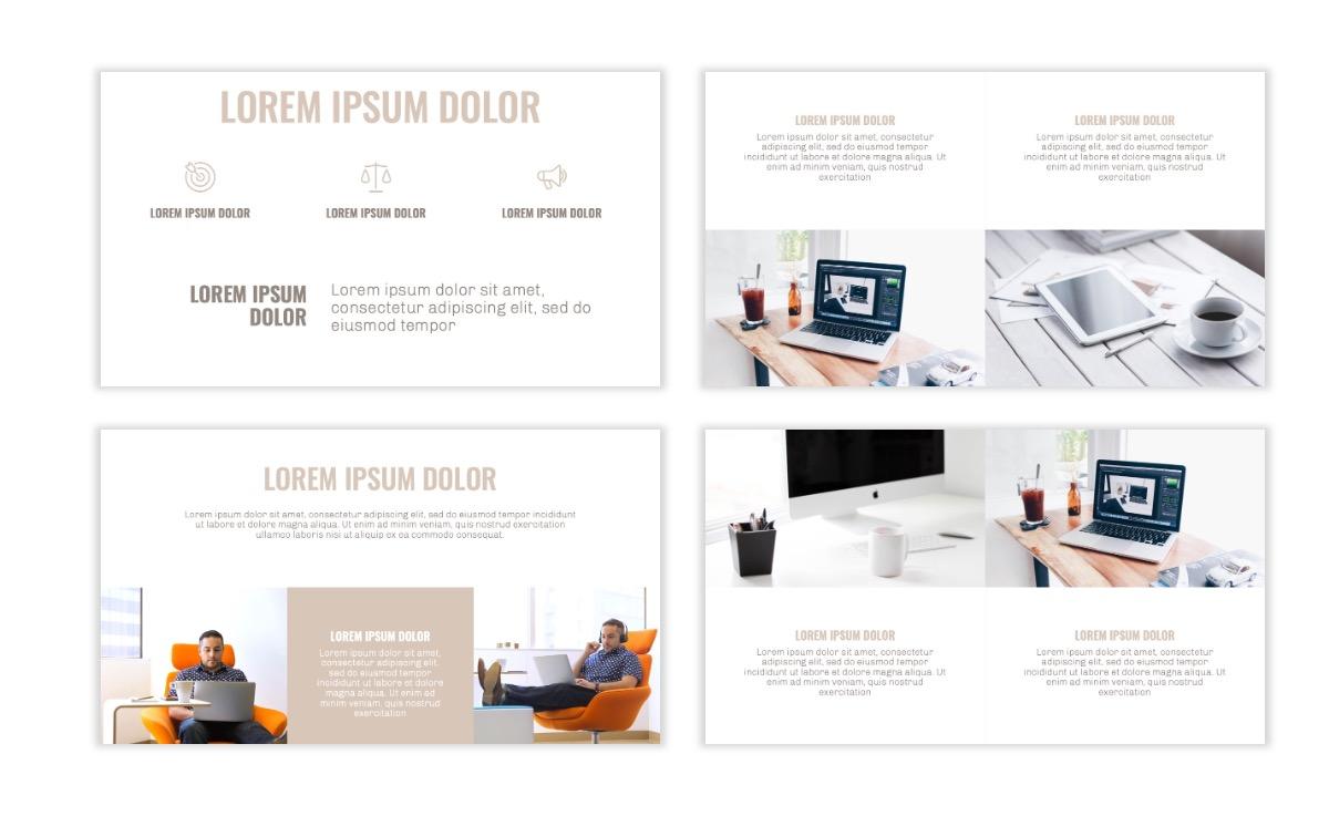 OSLO - Minimal - Neutral - Business - Professional - Aesthetic - Clean - Minimal Slide6